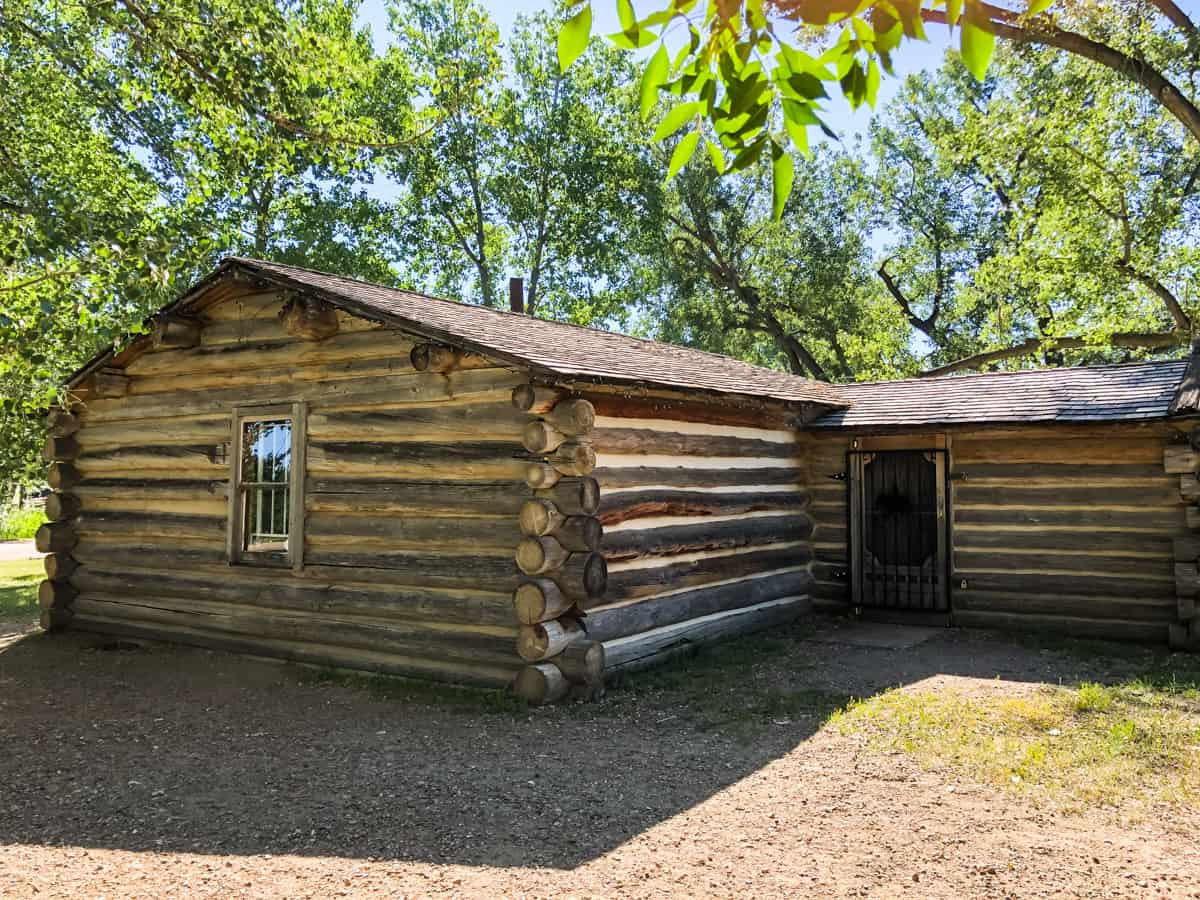 The John Ware Cabin at Dinosaur Provincial Park