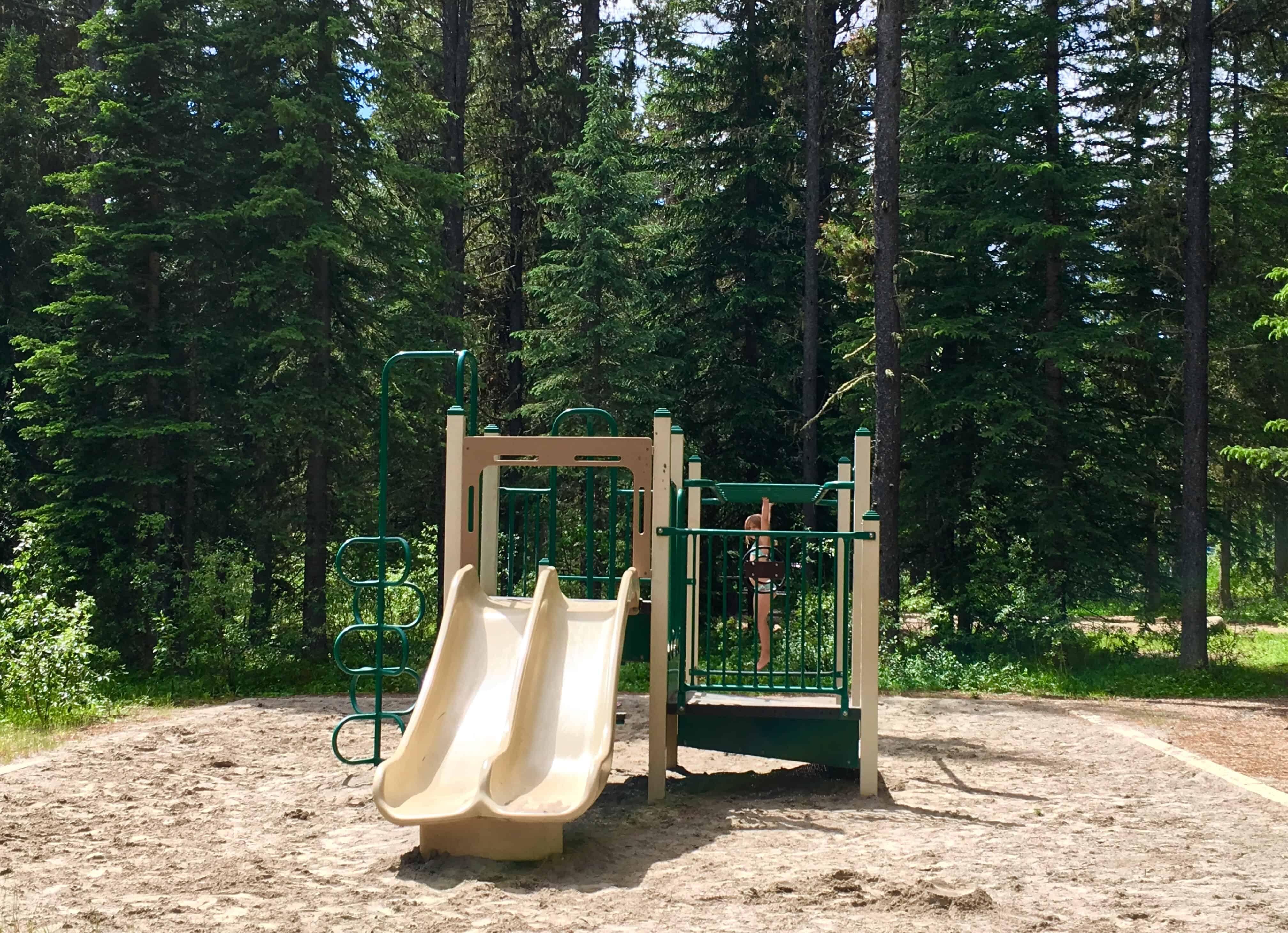 Playground Gregg Lake Campground