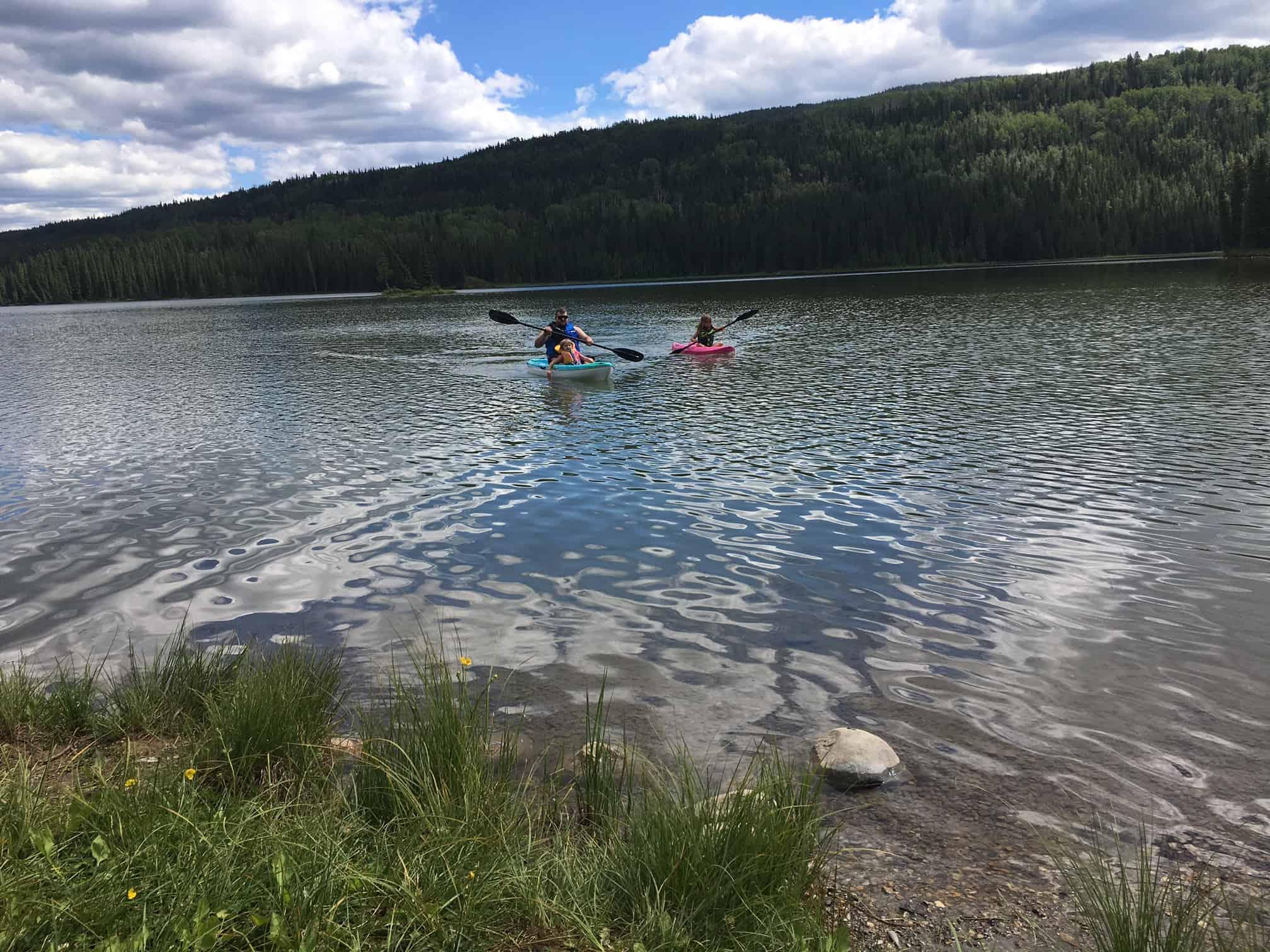 Gregg Lake Kayaking William A Switzer Provincial Park