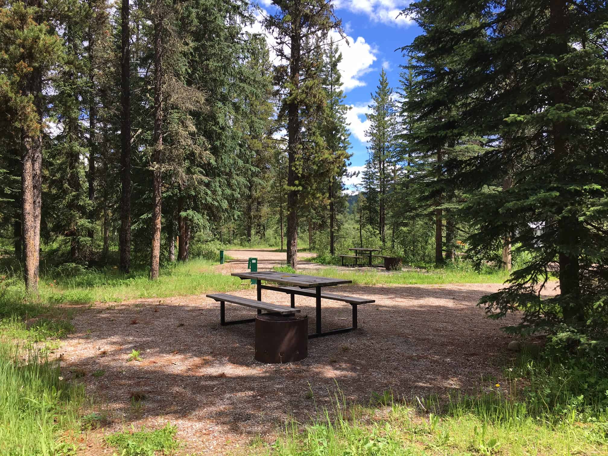 Gregg Lake Campsite