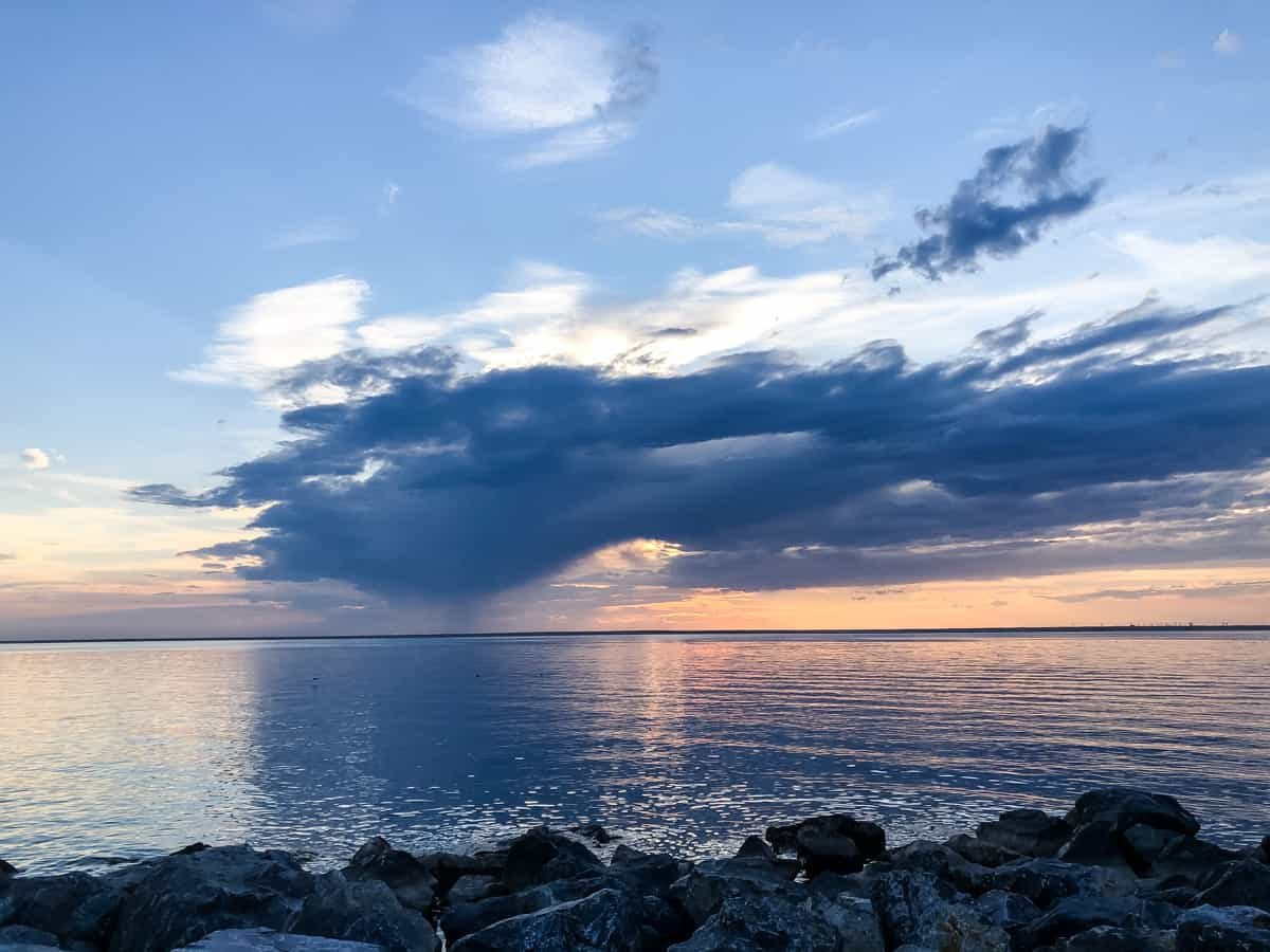 Sunset at Kinbrook Island