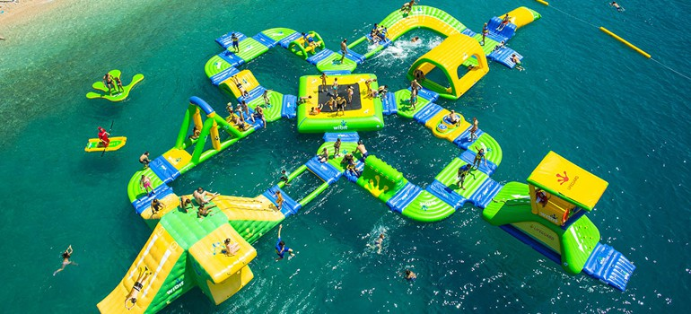 Aqua Splash Park, Sylvan Lake