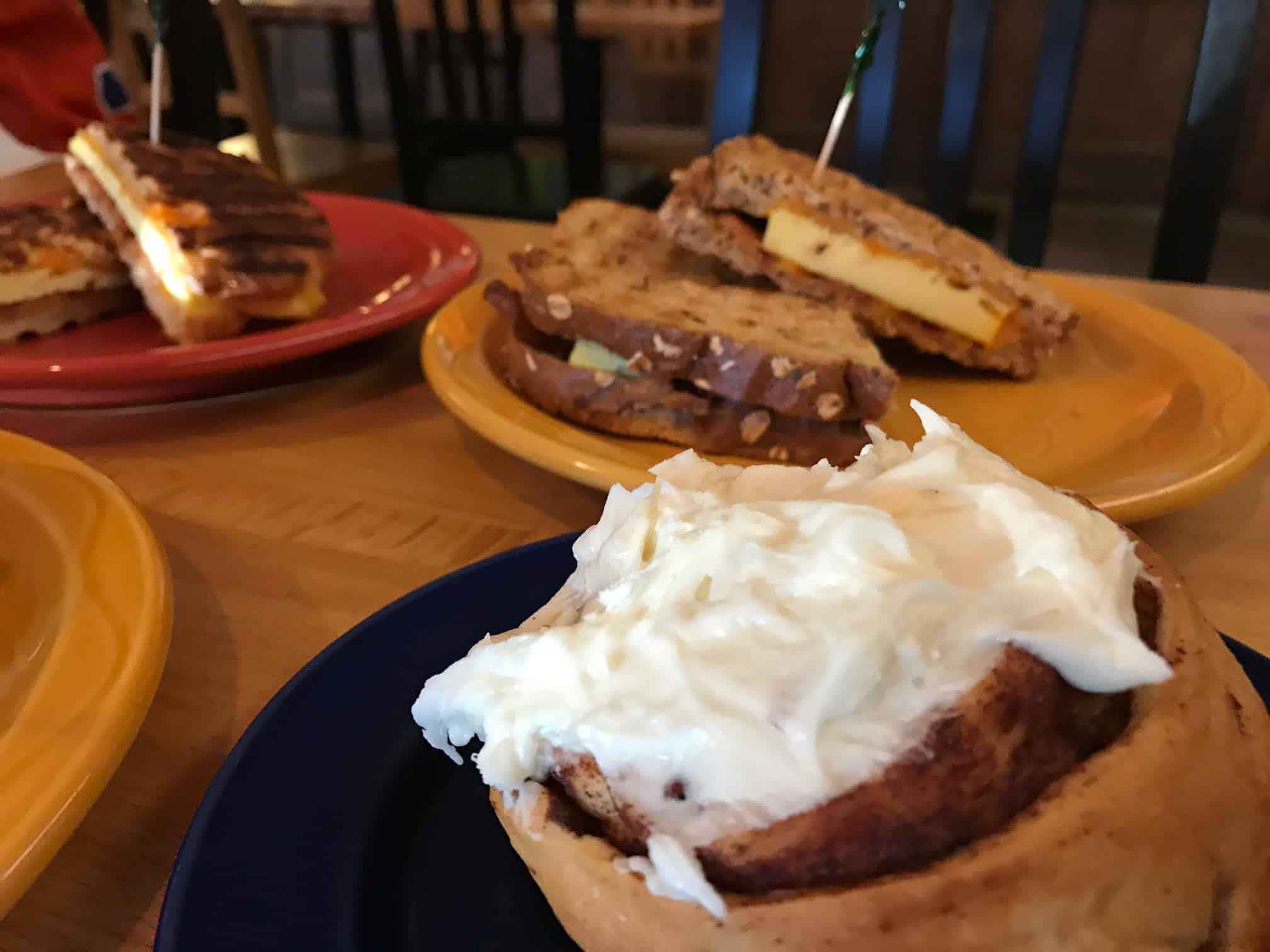Eating in Canmore with Kids: Harvest Cafe
