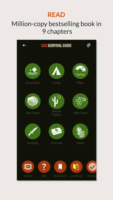 SAS Survival App