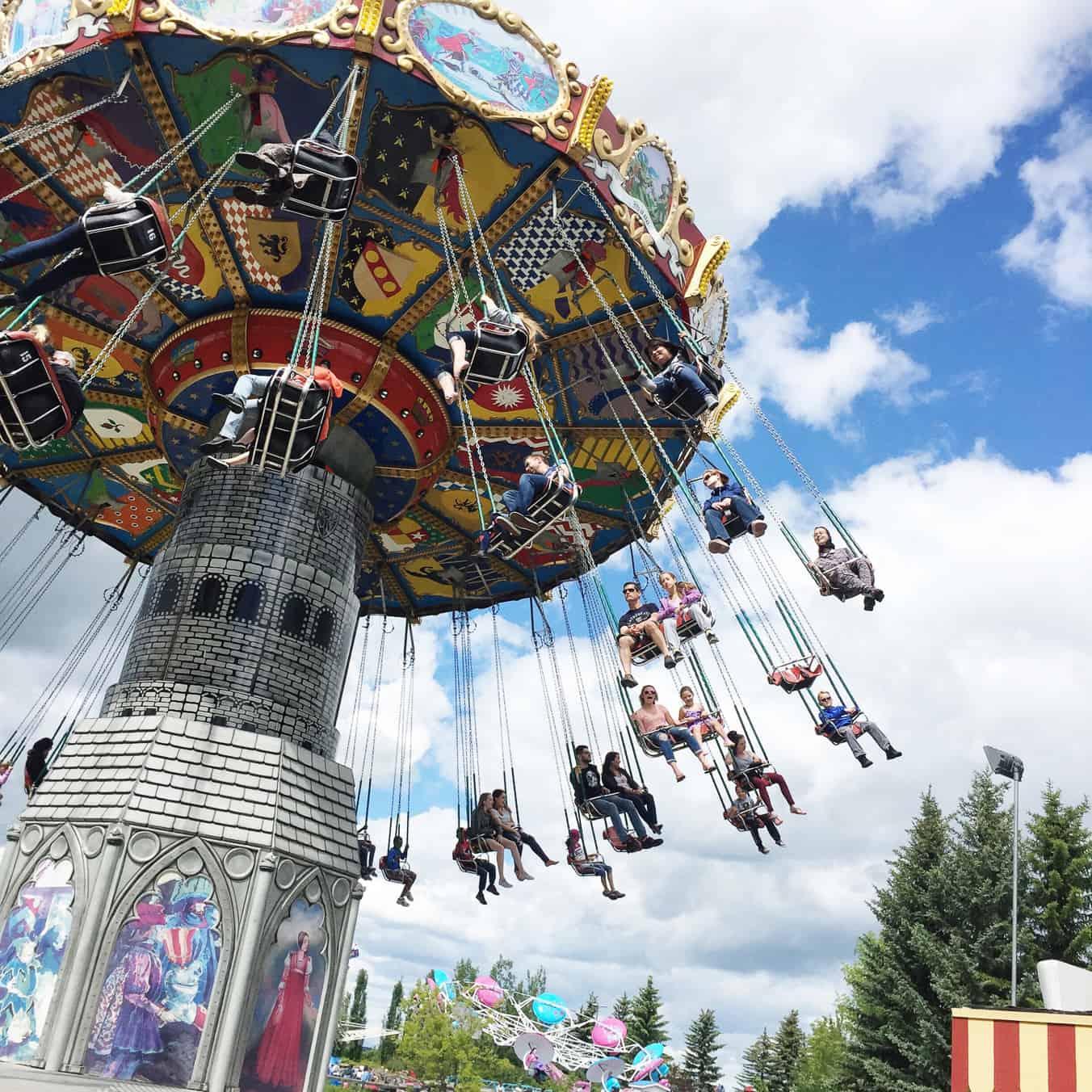 The Dream Machine Swings, Calaway Park