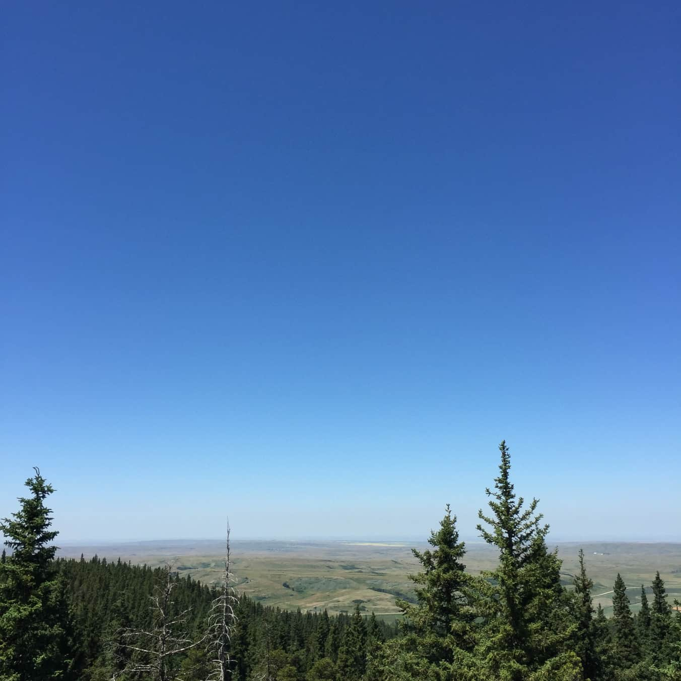 Firerock Campground in Cypress Hills