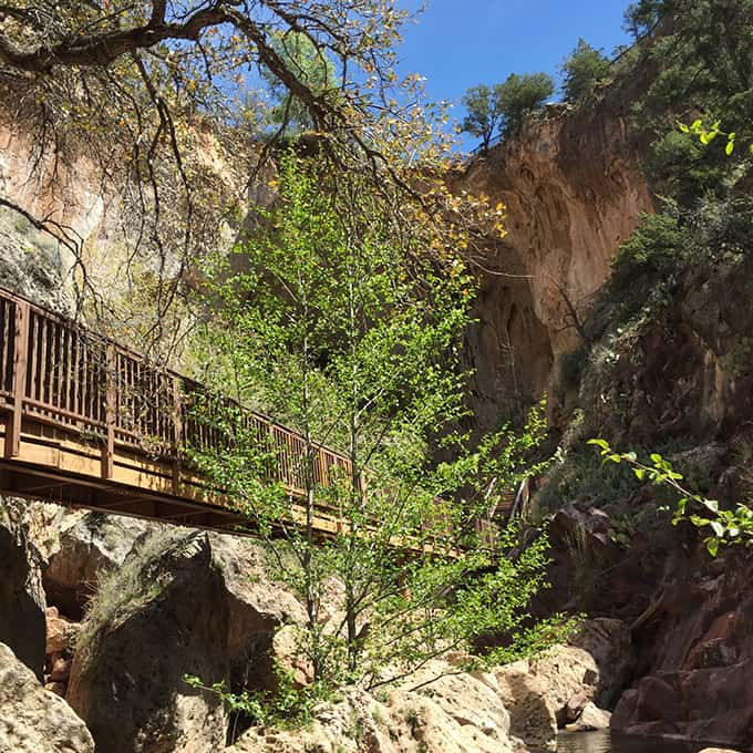 Tonto Natural Bridge State Park, Arizona