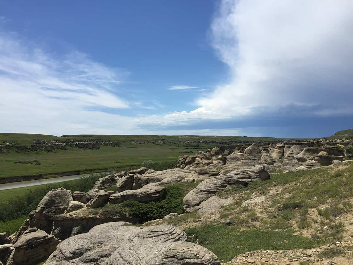 Hoodoo Trail at Writing-on-Stone Provincial Park
