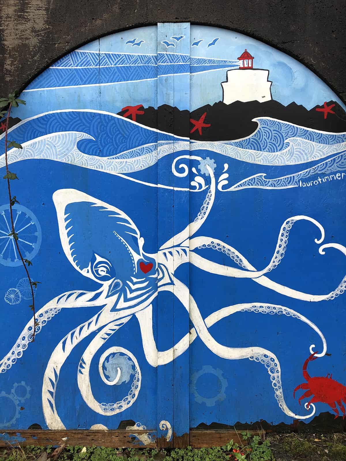Street Art Ucluelet