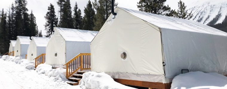 Glamping at Mount Engadine Lodge