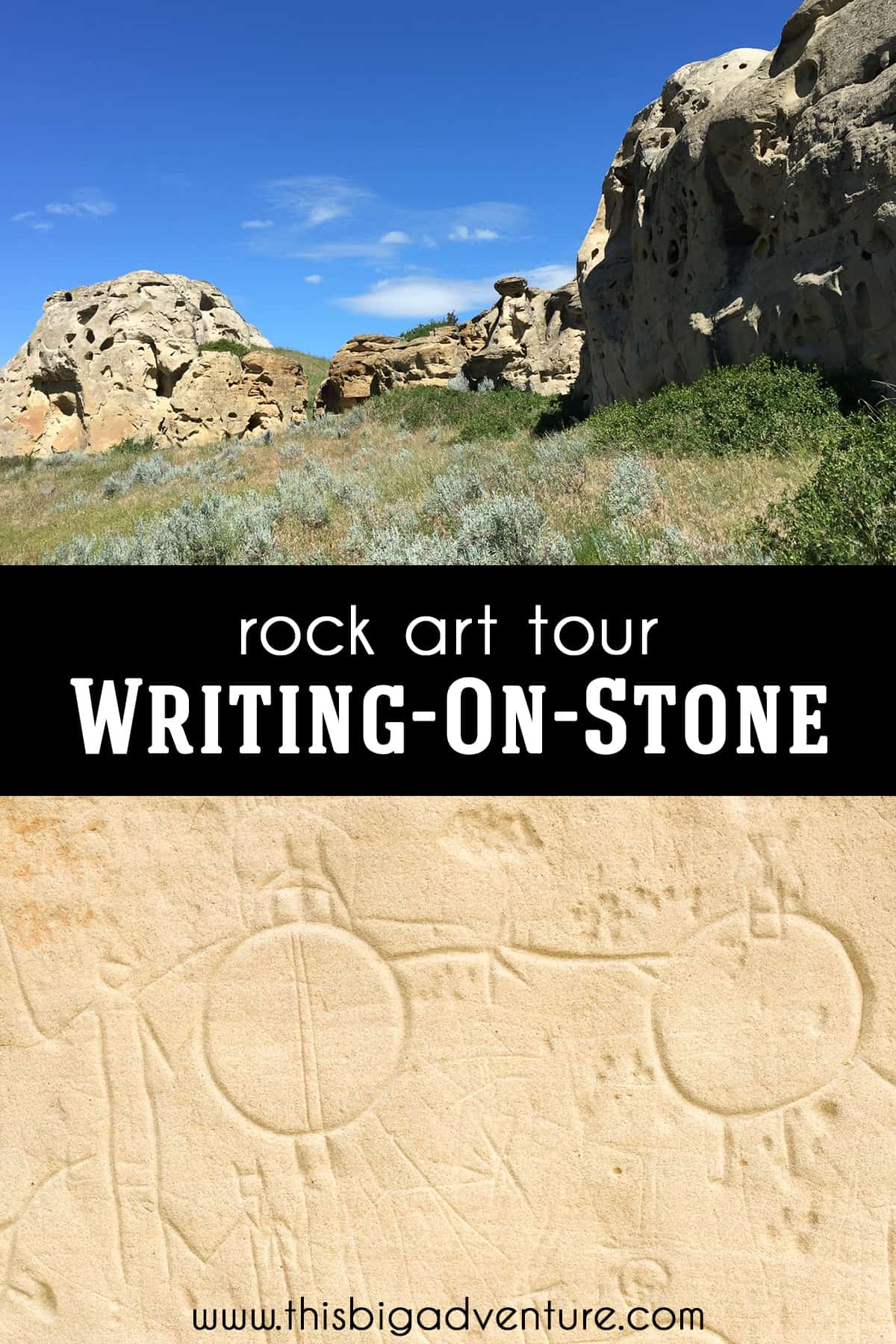 Rock Art Tour in Writing-on-Stone Provincial Park